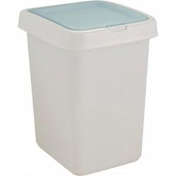 Контейнер для мусора Квадра с крышкой Push to Open 25л 295х335х420 мм