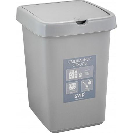 Контейнер для раздельного сбора мусора, 25 л 295 X 335 X 420мм