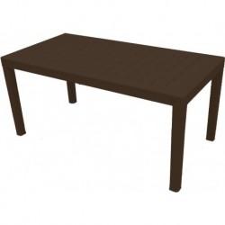 Стол пластиковый большой  Rattan 1532х789х701мм