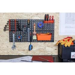 Панель инструментальная Blocker Expert с наполнением большая 652х100х326 мм черный/оранжевый