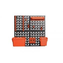Панель инструментальная Blocker Expert с наполнением малая 326х100х326 мм черный/оранжевый