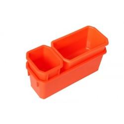 Набор лотков c креплением Blocker Expert (3 шт.) оранжевый