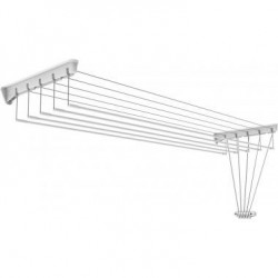 Сушилка для белья настенно потолочная состоит из 5 сушильных прутьев длиной 1,4м