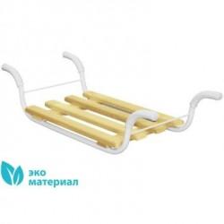 Сидение в ванну Эконом, съемное, 4-х реечное, метал. каркас, 420х270х700мм