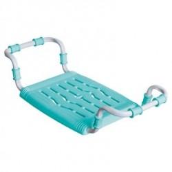 Сидение в ванну пластиковое, раздвижное, метал. каркас, 340х280х630/700мм