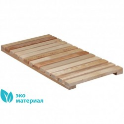 Решетка напольная деревянная, 700х350х32мм