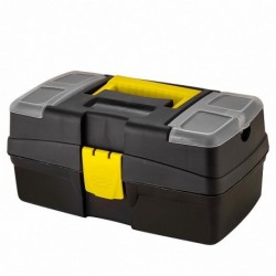 Ящик для инструментов Mars/Master 12 290х170х132мм с органайзером черный
