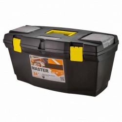 Ящик для инструментов Mars/Master 24 610х320х300мм с органайзером черный