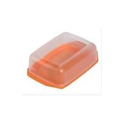 Масленка с прозрачной крышкой колор