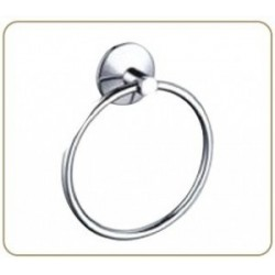 Полотенцедержатель двойной, кольцо овал