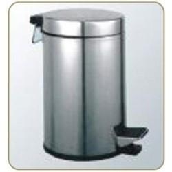 Ведро для мусора 8 литров хром