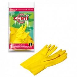 Перчатки резиновые универсальные, L AZUR