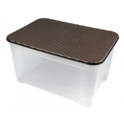 Ящик с крышкой Ротанг 555х390х290 мм