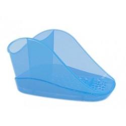 Подставка для моющего средства и губки Teo plus (джинс) 188х127х99мм