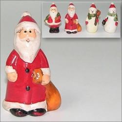 Фигурка Дед мороз/снеговик h6,5см, керам.