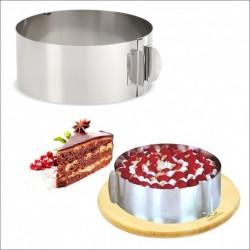 Кулинарная форма круглая регулируемая 15-30 см
