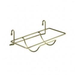 Держатель д/бум. полотенец навесной на рейлинг 27*12*11,5 см (упак. 4шт)