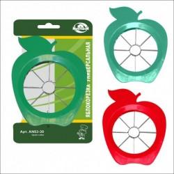 Яблокорезка универсальная (пластм.) 3цв. (упак. 12шт)