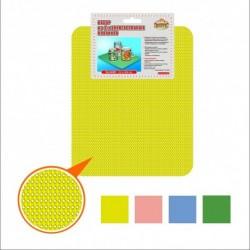 Набор унив.ковриков (п/посуду) 31*26см 2 шт. 4 цв. (упак. 8шт)