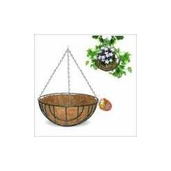 Кашпо подвесное Кокос 30 см (упак. 4шт)