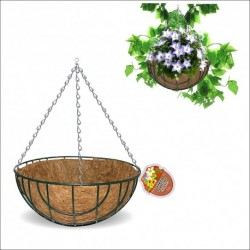 Кашпо подвесное Кокос 25 см (упак.4)