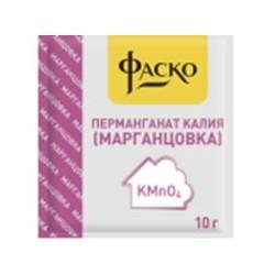 Перманганат калия (марганцовка) пакет 10г (25 шт.)