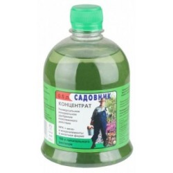 Фунгицид Зеленое мыло Садовник в бутылках 250 мл. (30шт.)
