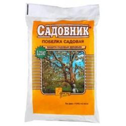 Побелка Садовник сухая в пакете 1,25кг. (25 шт.)