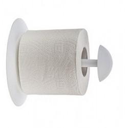 Держатель для туалетной бумаги Aqua (снежно-белый) 151х150мм