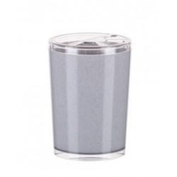 Подставка для зубных щеток Joli (белый мрамор) 109х78мм