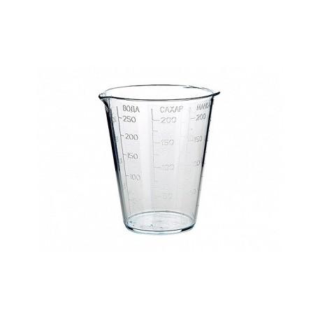 Мерный стакан (прозрачный) 250 мл.