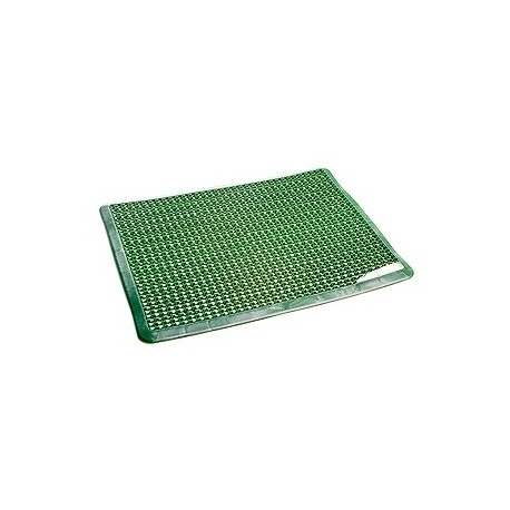 Коврик для прихожей Степ (зеленый) 560х430х10мм