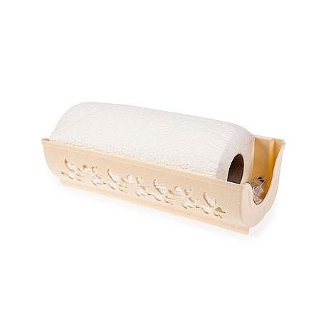 Держатель для бумажных полотенец Fly (слоновая кость) (с полотенцем) 273х87х124мм