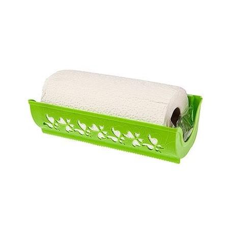 Держатель для бумажных полотенец Fly (салатный) (с полотенцем) 273х87х124мм