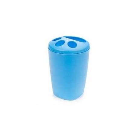 Подставка для зубных щеток Aqua (голубая лагуна) 119х80мм