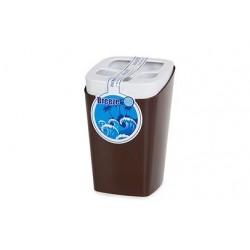 Подставка для зубных щеток Breeze (шоколадный) 79,5х79,5х121,8мм