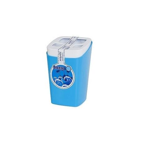 Подставка для зубных щеток Breeze (голубая лагуна) 79,5х79,5х121,8мм
