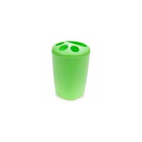 Подставка для зубных щеток Aqua (салатный) 119х80мм