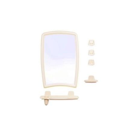 Набор для ванной комнаты Беросси 41 (светло-бежевый) (зеркало 350х520мм)