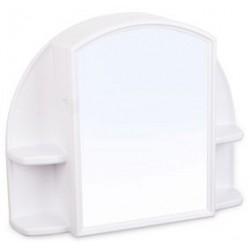 Шкафчик зеркальный Орион (снежно-белый) 508х424х123мм