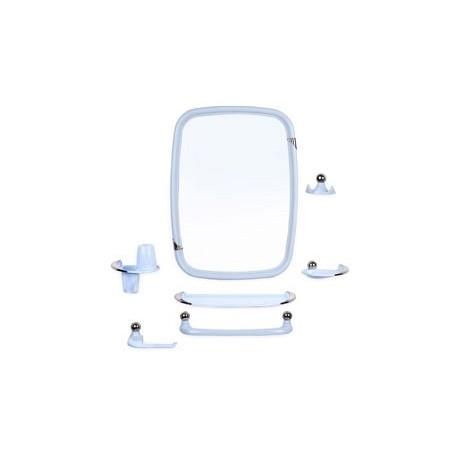 Набор для ванной комнаты Вива классик (светл-голубой) (зеркало 430х580мм)