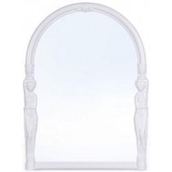 Зеркало Вива эллада  (снежно-белый) 429,5 х 580 мм