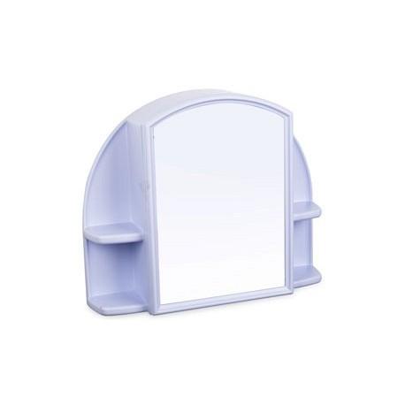 Шкафчик зеркальный Орион (светло-голубой) 508х424х123мм