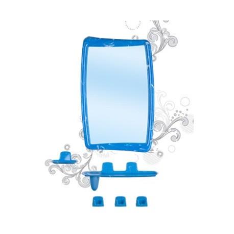 Набор для ванной комнаты Беросси 51 (светло-голубой) (зеркало 346х546мм)