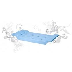Сидение для ванной (снежно-белый) 688х310х68мм