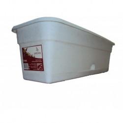 Ящик балконный L 40 мрамор