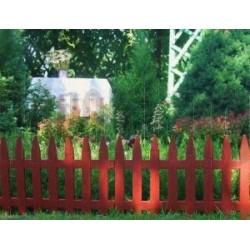 Забор декоративный №1 Частокол (28х300см)