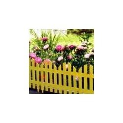 Забор декоративный №4 (7 секций) (28х300см)