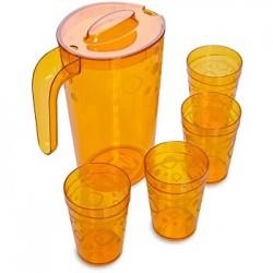 Набор для воды Люмици (кувшин 1,8л, 4 стакана 0,3л)