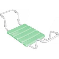 Сиденье в ванну пластиковое на металлической трубе (салатовое)